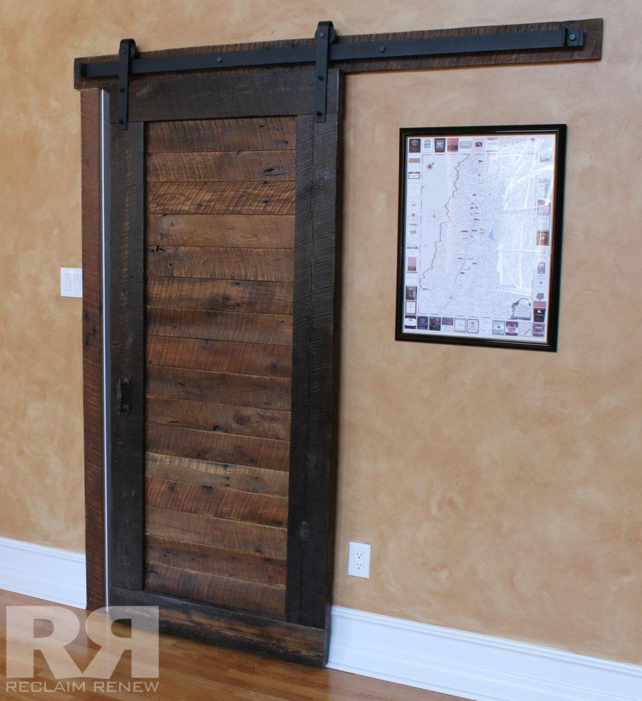 Single Barn Door Opening
